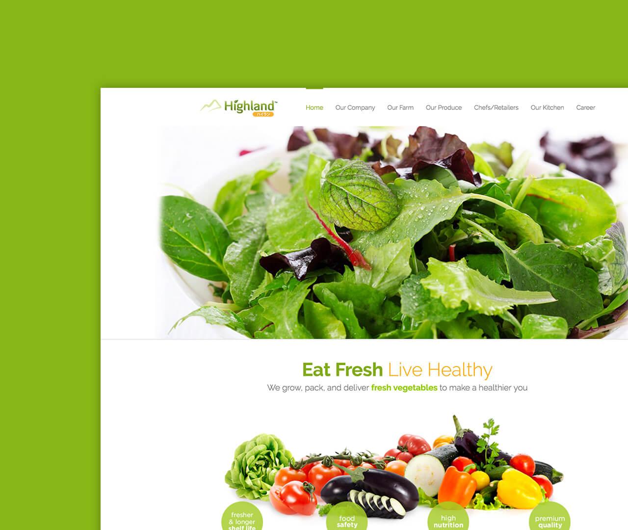 Highland Website