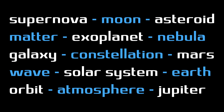 Gravity Sans Type Specimen_9