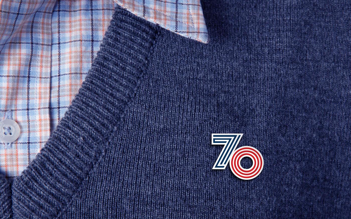 UKRI 70_Enamel Pin
