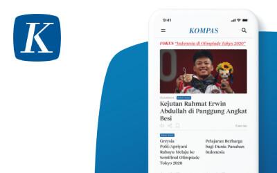 Kompas.id App Redesign