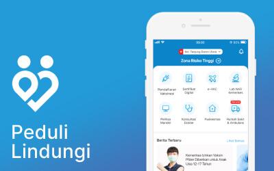 PeduliLindungi App Redesign